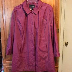 Women's 3X rain coat